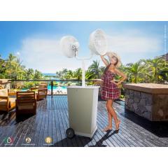 Ventilateur brumisateur design Duetto