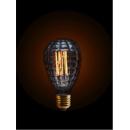 Ampoule à filament Design Waffle