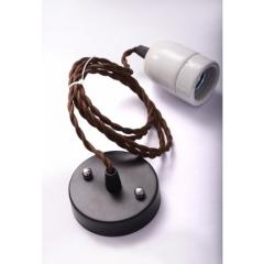 Suspension électrique fil torsadé 1920