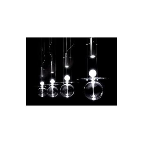 Suspension en verre Design Sphère