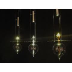 Suspension de verre Design Cône