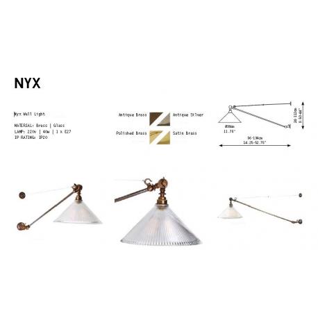 Applique ajustable Design Nyx Antique