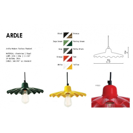Suspension Design Ardle Orange