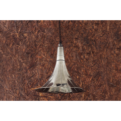 Suspension Design Gramophone Antique Argent