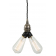 Suspension Design Arris Antique Argent
