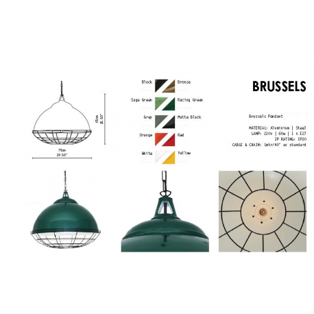 Suspension Aluminium Design Brussels