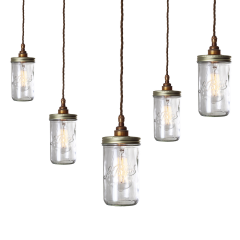 Lustre Chandelier Design Jam Jar