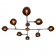 Lustre Chandelier Design Santa Anita Antique