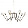 Lustre Chandelier reglable Design San Mateo Antique