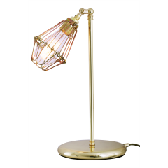 Lampe de table Design Praia Laiton poli