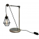 Lampe de table Design Apoch Antique Argent