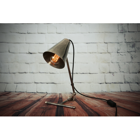 Lampe de table Design Comoro Antique Argent