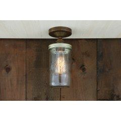 Plafonnier Design Jam Jar Antique