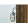 Applique extérieure ou salle de bain Design Carac Antique Argent