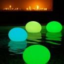 Ovali balle télécommandé multicolore et flottant