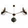 Lustre Chandelier Design Cullen 3 Antique