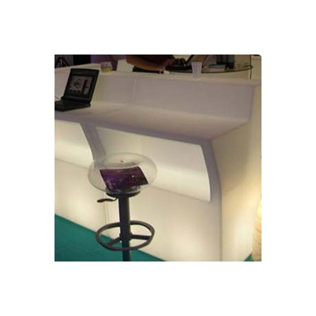 Bar ou comptoir lumineux à LED