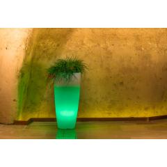 Vase rond lumineux Design Stilo