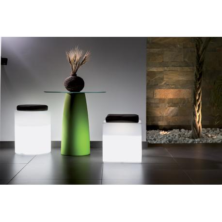 Siège lumineux cubique Design Comfy