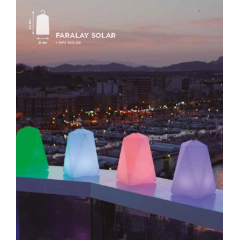 Lampe nomade solaire Design Faralay