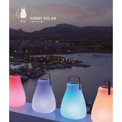 Lampe solaire Design Kurby
