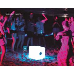 Lampe nomade Led musique Design Cuby