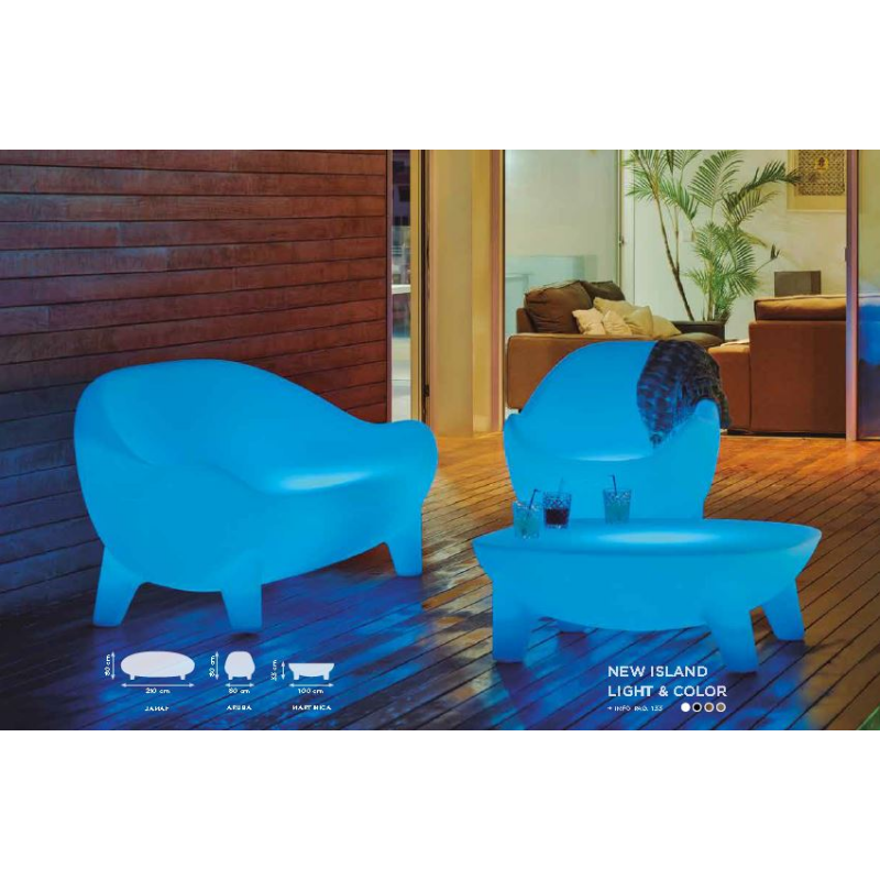 fauteuil de jardin couleur ou lumineux solaire design new island Résultat Supérieur 50 Meilleur De Fauteuil De Couleur Pic 2017 Jdt4