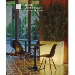Jardinière couleur ou lumineuse solaire Design Junco