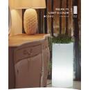 Pot colonne couleur ou lumineuse et solaire Design Palma