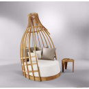 "Sofa Loveuse de jardin design ""Bottle"""
