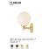 Applique globe Design Cloghan