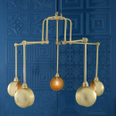 Lustre Chandelier Orientable Design San Jose Antique