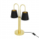 Lampe de Table à deux bras Design Uppsala