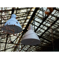 Suspension extérieure industrielle Cloche Design Bel