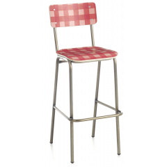 Tabouret de bar Design Vichy
