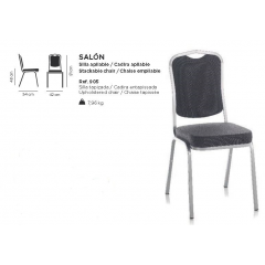 Chaise empilable Design SalonB