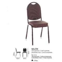 Chaise empilable Design SalonC