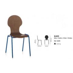 Chaise bois Design SilhouetteB