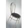 Chaise mixte acier Design Béa