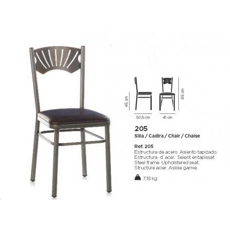 chaise design 205 - Chaise Acier