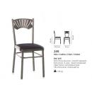 Chaise acier Design 205