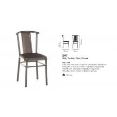Chaise acier Design 207