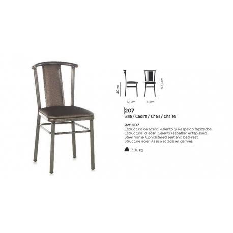 chaise design 207 - Chaise Acier