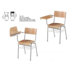 Chaise bois Design Conférence