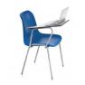 Chaise plastique avec tablette écritoire Design Colloque