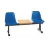 Sièges multiples poutre avec tablette pour salle d'attente Design BancadasB