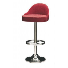 Tabouret de bar pivotant avec repose pieds Design Giratorio
