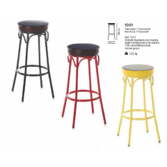 Tabouret de bar en Acier Design Odyssée