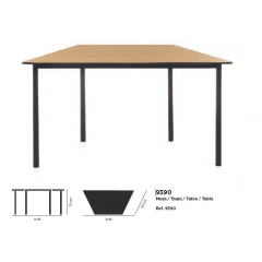 Table Trapez