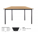 Table restaurateur trapezoïdale Design Trapez